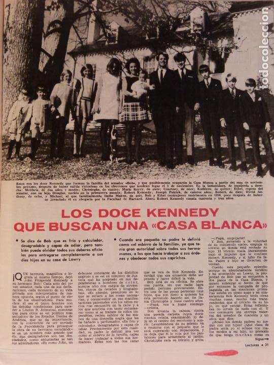 Coleccionismo de Revistas: REVISTA LECTURAS ROGER MOORE MARIA DOLORES GARCIA MAJA DE ESPAÑA 1968 JOSE LUIS OZORES Nº 839 L1 - Foto 7 - 229150465