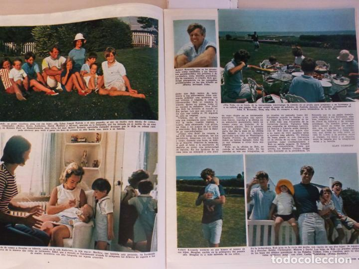 Coleccionismo de Revistas: REVISTA LECTURAS ROGER MOORE MARIA DOLORES GARCIA MAJA DE ESPAÑA 1968 JOSE LUIS OZORES Nº 839 L1 - Foto 10 - 229150465
