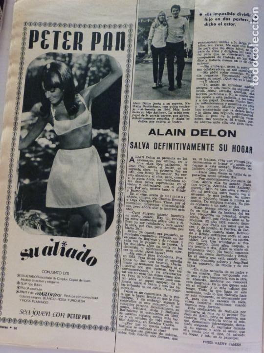 Coleccionismo de Revistas: REVISTA LECTURAS ROGER MOORE MARIA DOLORES GARCIA MAJA DE ESPAÑA 1968 JOSE LUIS OZORES Nº 839 L1 - Foto 11 - 229150465
