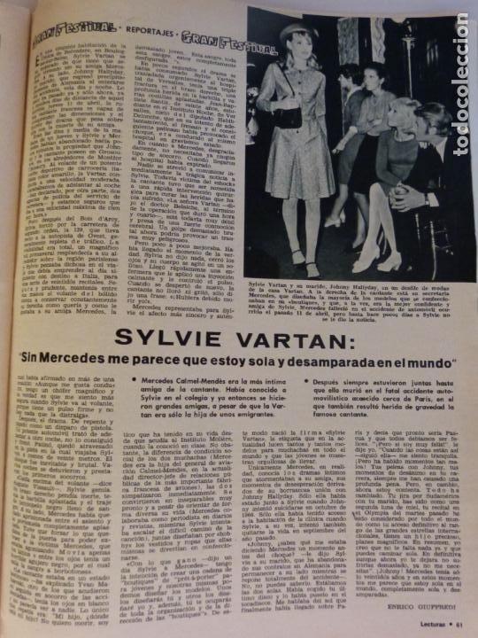Coleccionismo de Revistas: REVISTA LECTURAS ROGER MOORE MARIA DOLORES GARCIA MAJA DE ESPAÑA 1968 JOSE LUIS OZORES Nº 839 L1 - Foto 13 - 229150465