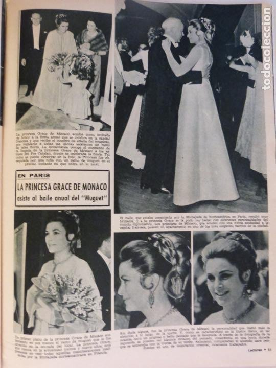 Coleccionismo de Revistas: REVISTA LECTURAS ROGER MOORE MARIA DOLORES GARCIA MAJA DE ESPAÑA 1968 JOSE LUIS OZORES Nº 839 L1 - Foto 14 - 229150465