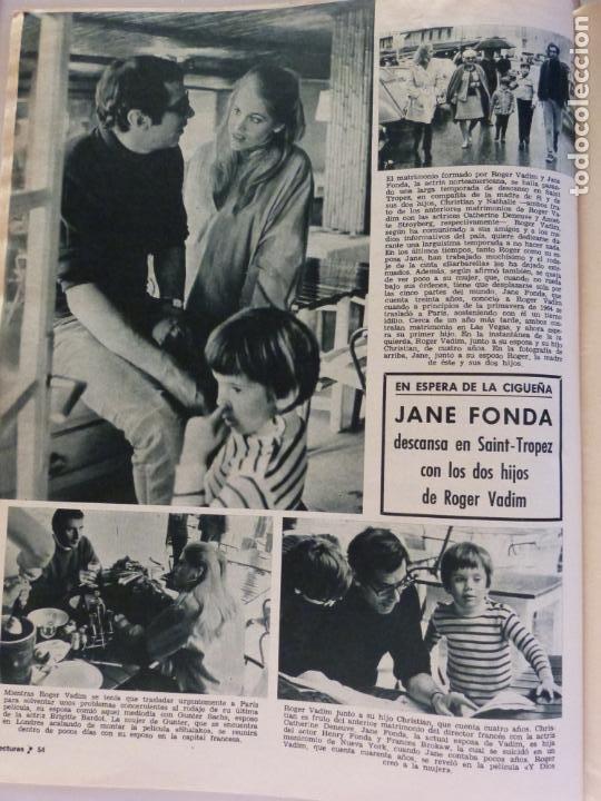 Coleccionismo de Revistas: REVISTA LECTURAS ROGER MOORE MARIA DOLORES GARCIA MAJA DE ESPAÑA 1968 JOSE LUIS OZORES Nº 839 L1 - Foto 15 - 229150465