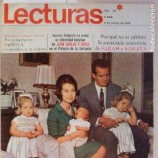 Coleccionismo de Revistas: REVISTA LECTURAS PRINCIPES JUAN CARLOS Y SOFIA MARLON BRANDO ARTURO FERNANDEZ Nº 829 L1. Lote 229151200