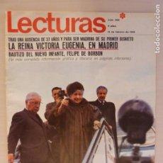 Coleccionismo de Revistas: REVISTA LECTURAS LA EMPERATRIZ FARAH REINA SIRIKIT TAILANDIA TONY CURTIS Nº 826 L1. Lote 229151525