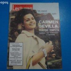 Coleccionismo de Revistas: REVISTA LECTURAS GRACE DE MONACO CARMEN SEVILLA AUDREY HEPBURN JOSEFINA BAKER CONCHITA Nº 634 L2. Lote 229309070