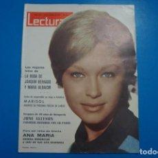 Coleccionismo de Revistas: REVISTA LECTURAS MARIA DOLORES PRADERA MARISOL STEEVE MACQUEEN NEILE ADAMS CAROLINA MONACO Nº 653 L2. Lote 229309540