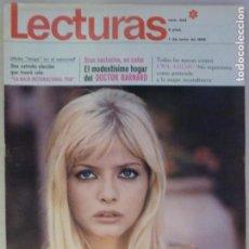 Coleccionismo de Revistas: REVISTA LECTURAS ROMINA POWER IRENE GUTIERREZ CABA FRED ASTAIRE SOFIA LOREN Nº 842 L3. Lote 230323370