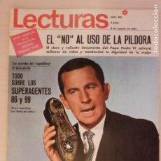 Coleccionismo de Revistas: REVISTA LECTURAS JANE FONDA NATHALIE WOOD KIRK DOUGLAS RITA HAYWORTH GINA LOLLOBRIGIDA Nº 851 L3. Lote 230324265