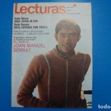 Coleccionismo de Revistas: REVISTA LECTURAS PAQUITA TORRES AGNES SPAAK SARA MONTIEL GRACE DE MONACO MARISOL Nº 828 L4. Lote 230329135