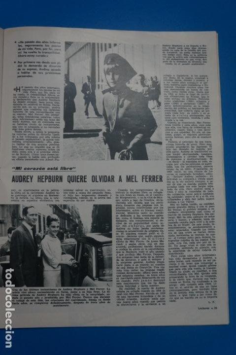 Coleccionismo de Revistas: REVISTA LECTURAS BRIGITTE BARDOT AUDREY HEPBURN SONIA BRUNO LOS PRINCIPES DE MONACO Nº 834 L4 - Foto 3 - 230329865