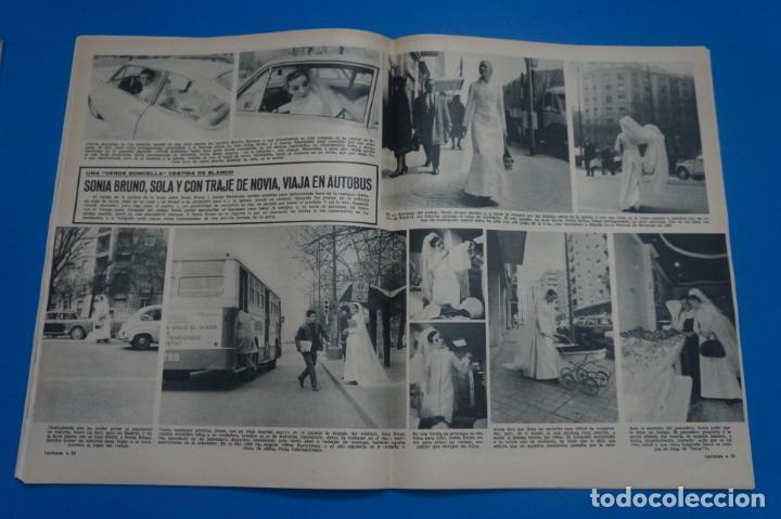Coleccionismo de Revistas: REVISTA LECTURAS BRIGITTE BARDOT AUDREY HEPBURN SONIA BRUNO LOS PRINCIPES DE MONACO Nº 834 L4 - Foto 4 - 230329865