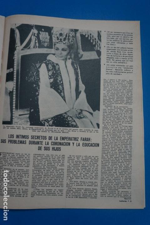 Coleccionismo de Revistas: REVISTA LECTURAS BRIGITTE BARDOT AUDREY HEPBURN SONIA BRUNO LOS PRINCIPES DE MONACO Nº 834 L4 - Foto 6 - 230329865