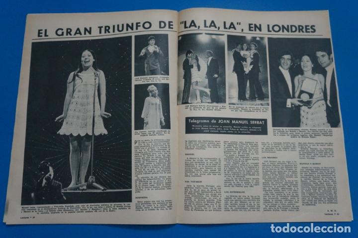 Coleccionismo de Revistas: REVISTA LECTURAS BRIGITTE BARDOT AUDREY HEPBURN SONIA BRUNO LOS PRINCIPES DE MONACO Nº 834 L4 - Foto 8 - 230329865