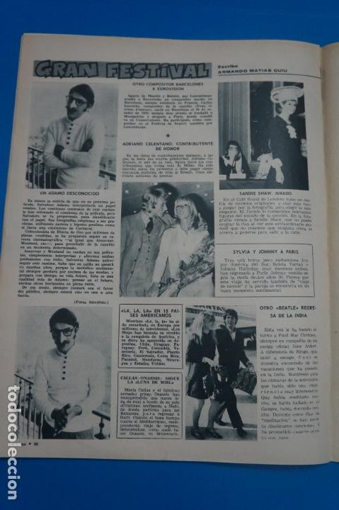 Coleccionismo de Revistas: REVISTA LECTURAS BRIGITTE BARDOT AUDREY HEPBURN SONIA BRUNO LOS PRINCIPES DE MONACO Nº 834 L4 - Foto 10 - 230329865