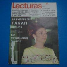 Coleccionismo de Revistas: REVISTA LECTURAS BRIGITTE BARDOT AUDREY HEPBURN SONIA BRUNO LOS PRINCIPES DE MONACO Nº 834 L4. Lote 230329865