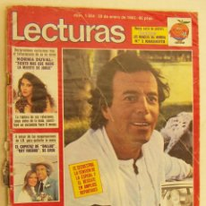 Coleccionismo de Revistas: REVISTA LECTURAS CON JULIO IGLESIAS Nº 1554 DE 1982. Lote 230347375