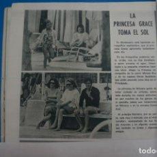 Coleccionismo de Revistas: RECORTE CLIPPING DE GRACE KELLY REVISTA LECTURAS Nº 909 PAG. 32 L5. Lote 231435655