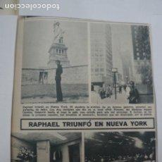 Collezionismo di Riviste: RECORTE CLIPPING DE RAPHAEL REVISTA LECTURAS Nº 909 PAG. 45 L5. Lote 231436300