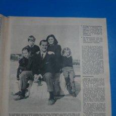 Collectionnisme de Magazines: RECORTE CLIPPING DE LUCIA BOSÉ Y LUIS MIGUEL DOMINGUIN REVISTA LECTURAS Nº 822 PAG. 11 Y 12 L6. Lote 232271270