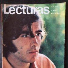 Collezionismo di Riviste: REVISTA LECTURAS Nº 933 - AÑO 1970 - SERRAT - POSTER DE RAPHAEL. Lote 232405990