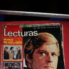 Coleccionismo de Revistas: REVISTA LECTURAS 1975 CAROL BURNETT - RAPHAEL - LUISA ORTEGA - ROBERT REDFORD - BRAULIO. Lote 232664695
