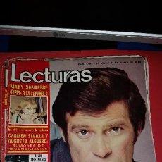 Coleccionismo de Revistas: REVISTA LECTURAS AÑO 1975 - EN PORTADA CRISTOPHER GEORGE- INCLUYE POSTER. Lote 232666240