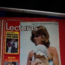 Coleccionismo de Revistas: REVISTA LECTURAS 1975-REPORTAJE MARISOL -POSTER DE PAUL NEWMAN. Lote 232683000