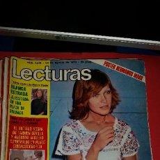 Coleccionismo de Revistas: REVISTA LECTURAS -1975- MARISOL-MISS ESPAÑA AMPARO MUÑOZ-JULIO IGLESIAS-CAROLINA-SERRAT-MANOL. Lote 232683882