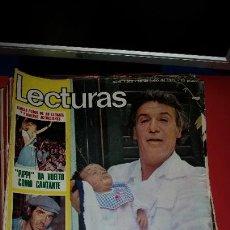 Coleccionismo de Revistas: REVISTA LECTURAS-1975, EN PORTADA PACO RABAL YA ES ABUELO. PIPPI CALZASLARGAS. Lote 232688400