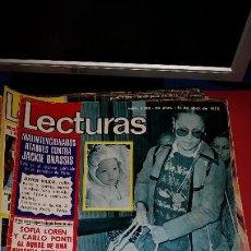 Coleccionismo de Revistas: REVISTA LECTURAS 1975 MARISOL. SOFIA LOREN. HENRY FONDA. CARMEN CERVERA. Lote 232691198