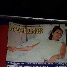 Coleccionismo de Revistas: REVISTA LECTURAS 1975 LA CASA DE LA PRADERA CONCHA VELASCO URI GELLER MASSIEL GIULIETTA. Lote 232717510