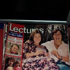 Coleccionismo de Revistas: REVISTA LECTURAS AÑO 1975 - EN PORTADA EL CORDOBES Y MARTINA PAUL BREITNER ROBERT VAUGHN. Lote 232722580