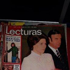 Coleccionismo de Revistas: LECTURAS REVISTA 1975 MARISOL GONZALEZ-MARISOL- LAS GRECAS CONTIENE POSTER DE - THE ROLLING STONES. Lote 232724160