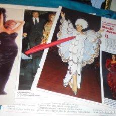 Collectionnisme de Magazines: RECORTE : PERSONALISIMOS MODELOS DE ROCIO JURADO. LECTURAS, SPTMBRE 1988(#). Lote 233383025