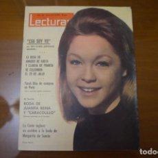 Colecionismo de Revistas: REVISTA LECTURAS JUANITA REINA MARISOL FRANCISCO RABAL CANTINFLAS KATHERINE HEPBURN Nº 636 L12. Lote 234750425