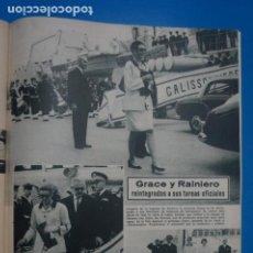 Coleccionismo de Revistas: RECORTE CLIPPING DE LA PRINCESA GRACE Y RAINIERO REVISTA LECTURAS Nº 863 PAG. 85 L14. Lote 235058035
