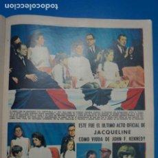 Coleccionismo de Revistas: RECORTE CLIPPING DE JACQUELINE VIUDA DE JOHN F. KENNEDY REVISTA LECTURAS Nº 863 PAG. 67 L14. Lote 235058545