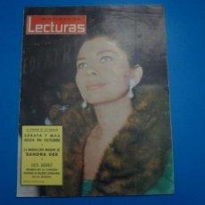 Coleccionismo de Revistas: REVISTA LECTURAS SORAYA MAXIMILIAN SCHELL LESLIE CARON JAMES MITCHUM GRACITA MORALES Nº 624. Lote 235068860