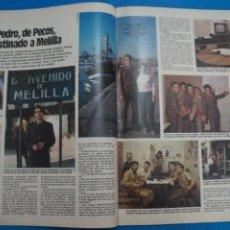 Coleccionismo de Revistas: RECORTE CLIPPING DE PEDRO DE LOS PECOS REVISTA LECTURAS Nº 1610 PAG. 45-45 L16. Lote 235714620