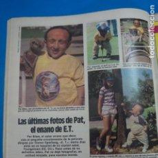 Coleccionismo de Revistas: RECORTE CLIPPING DE PAT EL ENANO DE ET REVISTA LECTURAS Nº 1610 PAG. 58 L16. Lote 235715080