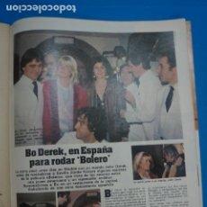 Coleccionismo de Revistas: RECORTE CLIPPING DE BOB DEREK REVISTA LECTURAS Nº 1610 PAG. 73 L16. Lote 235716165