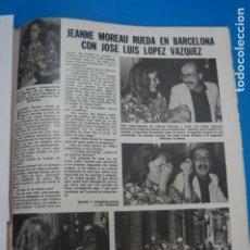 Coleccionismo de Revistas: RECORTE CLIPPING DE JOSE LUIS LOPEZ VAZQUEZ REVISTA LECTURAS Nº 1474 PAG. 81 L16. Lote 235727525