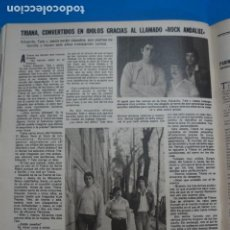 Coleccionismo de Revistas: RECORTE CLIPPING DE TRIANA REVISTA LECTURAS Nº 1474 PAG. 92 L16. Lote 235728095