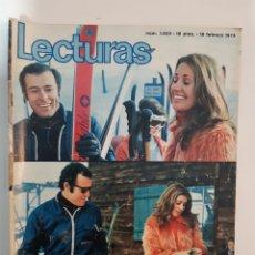 Coleccionismo de Revistas: LECTURAS N°1035 18/2/1972. Lote 235827085