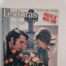 Coleccionismo de Revistas: LECTURAS N°1044 21/4/1972. Lote 235828620