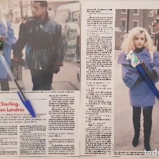 Coleccionismo de Revistas: REPORTAJE MARTA SÁNCHEZ. LECTURAS 18/01/1991. Lote 235877800