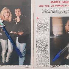 Coleccionismo de Revistas: REPORTAJE MARTA SÁNCHEZ. LECTURAS 18.01.91. Lote 235879600