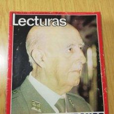 Collectionnisme de Magazines: REVISTA LECTURAS. FRANCISCO FRANCO. MEDIO SIGLO DE HISTORIA DE ESPAÑA. 7 NOVIEMBRE DE 1975. Lote 239883765