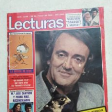 Colecionismo de Revistas: FÉLIX RODRÍGUEZ DE LA FUENTE ( REVISTA LECTURAS 1980 ). Lote 241144475