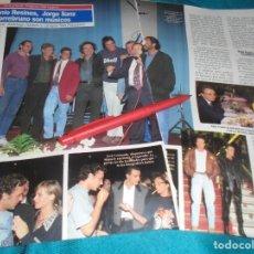 Coleccionismo de Revistas: RECORTE : ESTRENO PELICULA: MECANO, TORREBRUNO..... DIEZ MINUTOS, SPTMBRE 1992(#). Lote 241198970